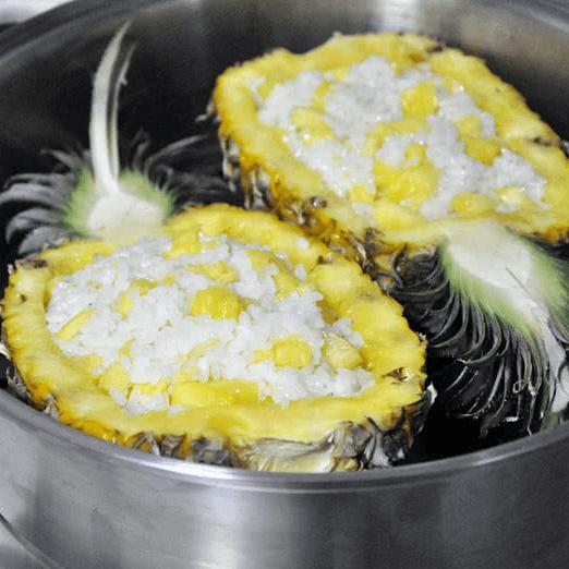 好吃菠萝糯米饭