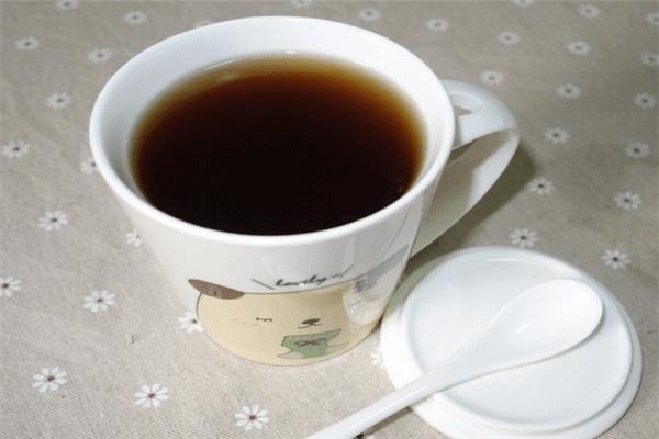 美味的紅糖姜茶