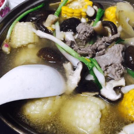 简单的清汤牛肉汤锅的做法