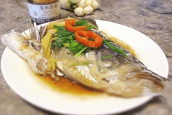 好吃的清蒸野生鱼头