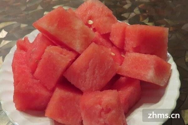 防暑的水果