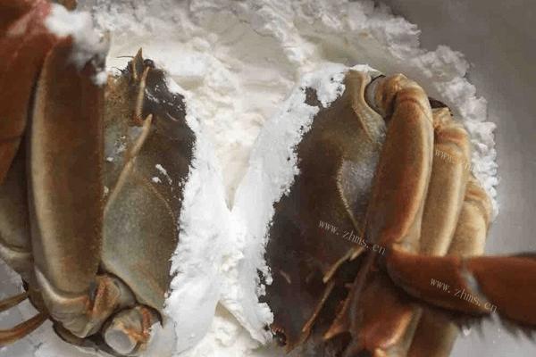 红烧螃蟹的做法第四步
