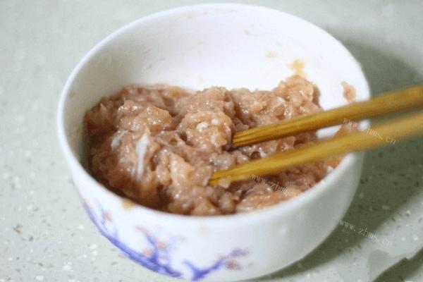蔬菜瘦肉粥的做法第四步