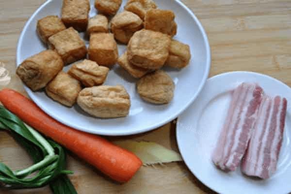 美味炒豆腐又香又减肥,减肥时吃这个也能补充营养第一步