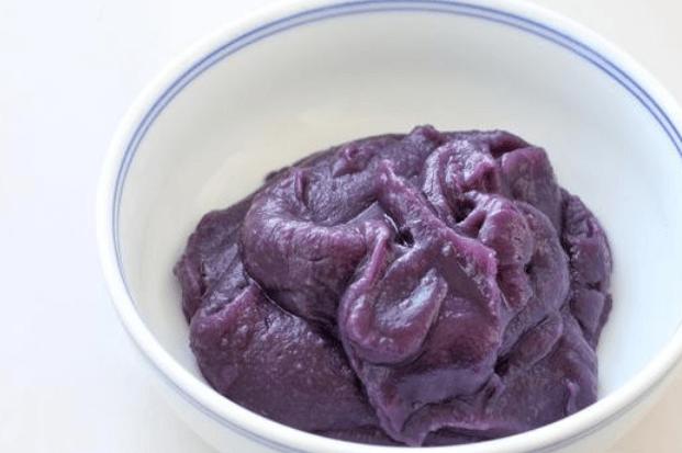怎么做紫薯刀切馒头,学会之后当早餐再好不过了第二步