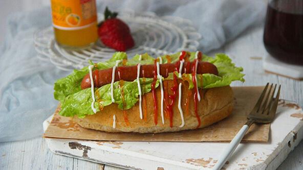 好吃的热狗面包,自己也可以做了