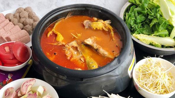 美味的清汤鱼火锅做法超级简单哟