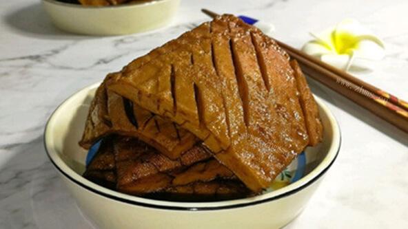 又香又好吃的五香豆腐干
