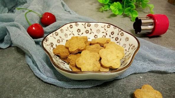 自制黄油小饼干,简单又好吃