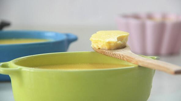 香甜乳酪布丁