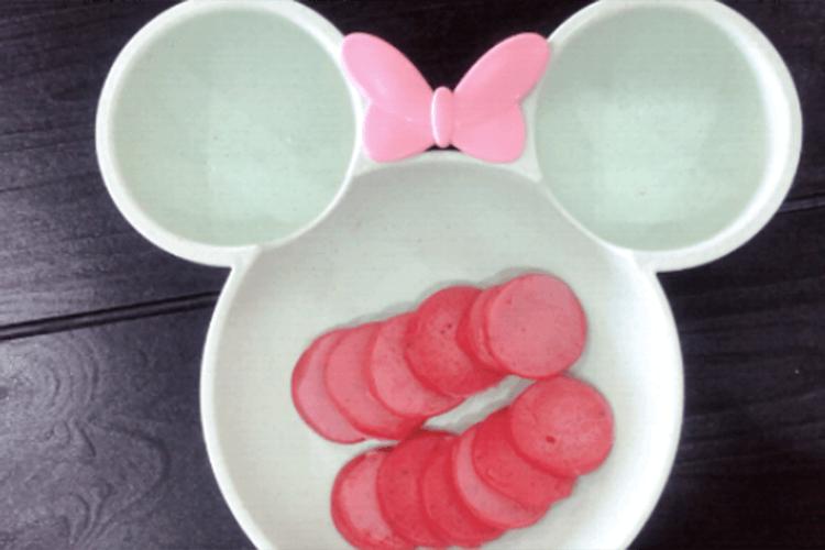 有助消化的美食——火龙果小松饼第七步