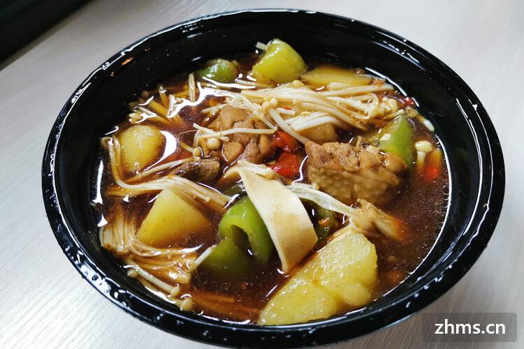 四食一黄焖鸡米饭利润丰厚,经营模式新颖