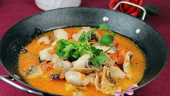 经常吃都不会腻的番茄鱼火锅