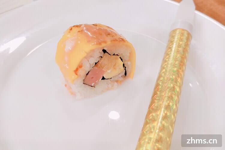 卖寿司的小摊赚钱吗
