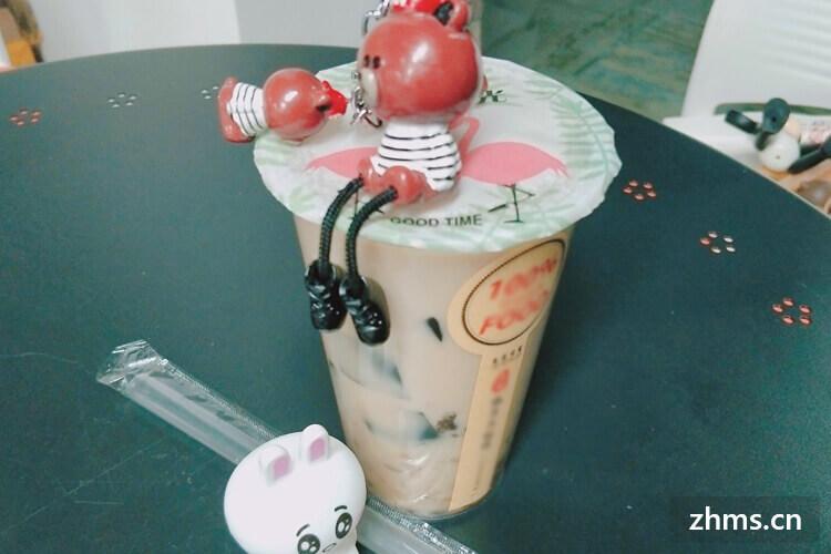 网红一点点奶茶加盟