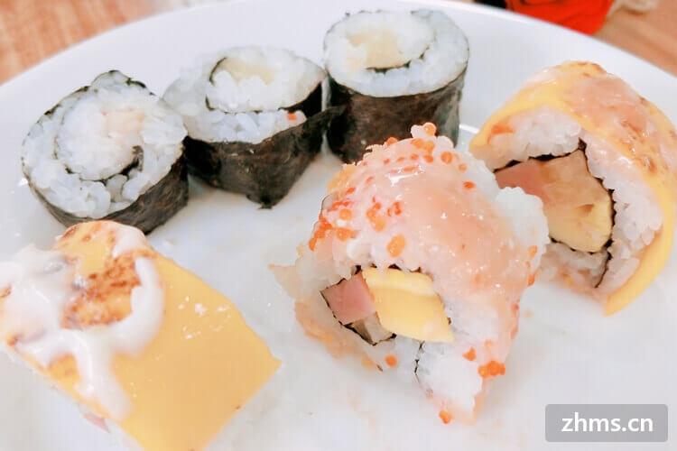 开一个小型的寿司店成本要多少