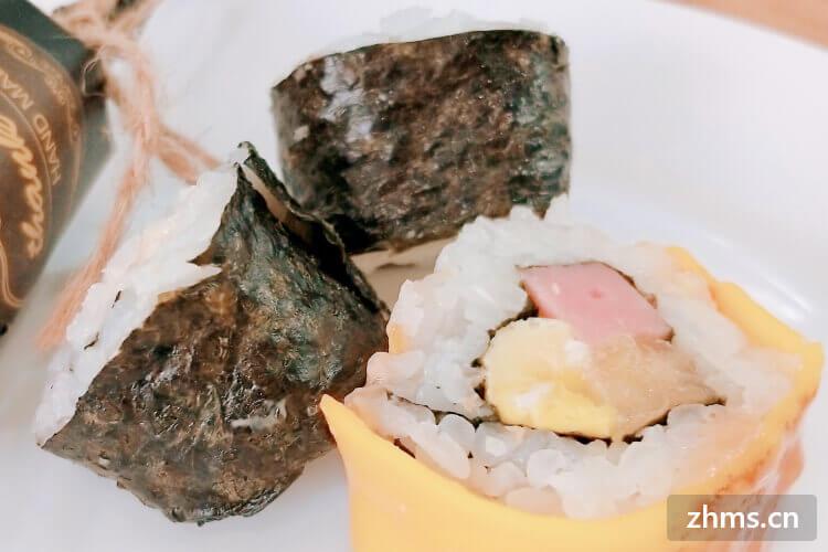 寿司品牌店加盟