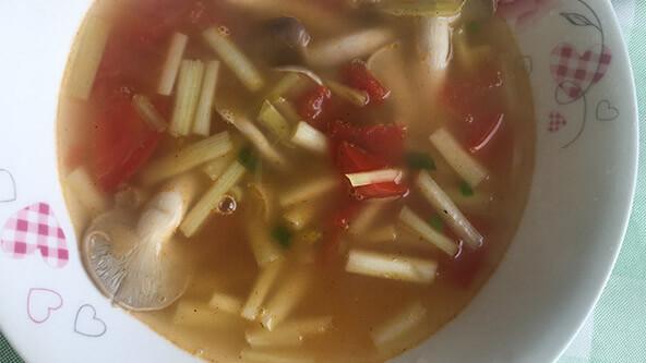 鲜到爆炸的蘑菇汤,学起来做给自己喝