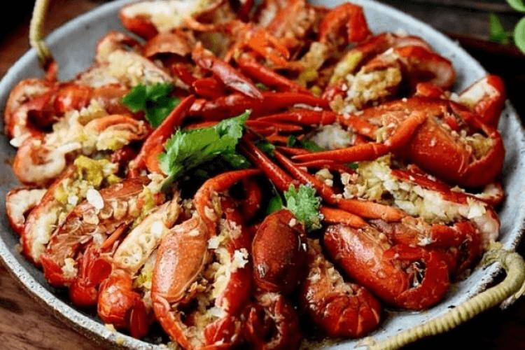 靓靓蒸虾——夏天一定要吃的小龙虾第九步