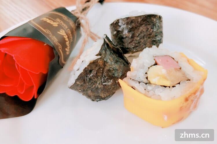 上饶寿司加盟