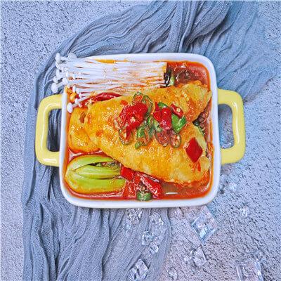 烤鱼夫人烤鱼饭图