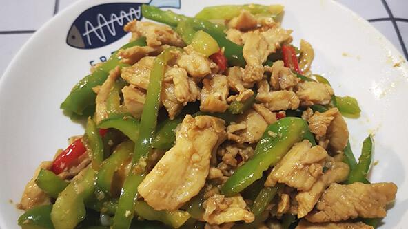 必学的家常小菜:青椒肉丝