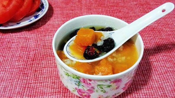 學會南瓜紅棗粳米粥,早餐不用愁