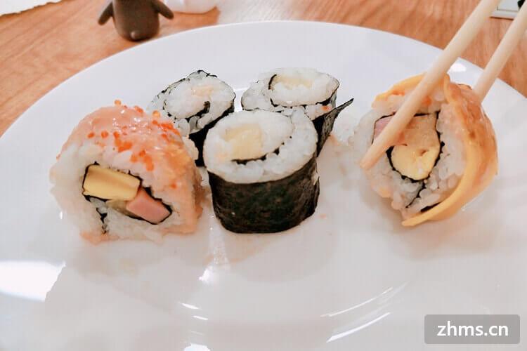 小县城做寿司生意好不好呢?早了解早加盟!