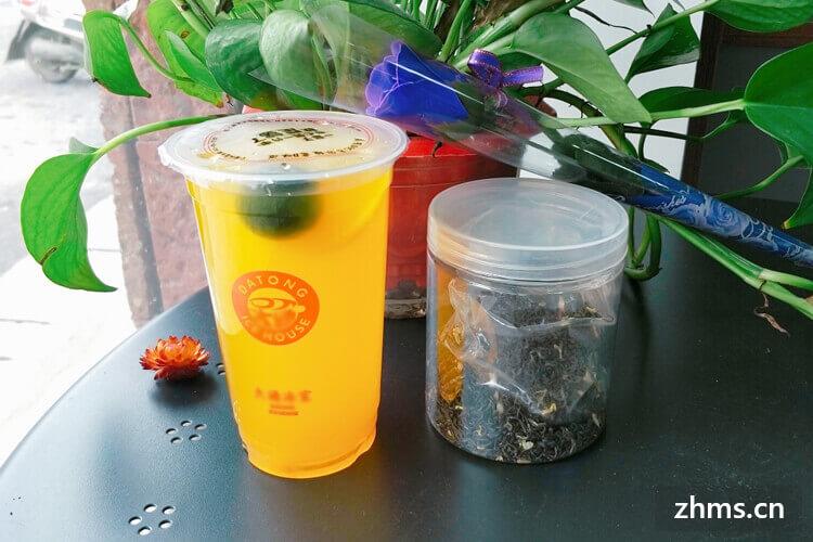 茶物语奶茶加盟费用多少