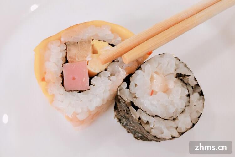 我要开一家自己的小店,不知道饭饭寿司靠谱吗?