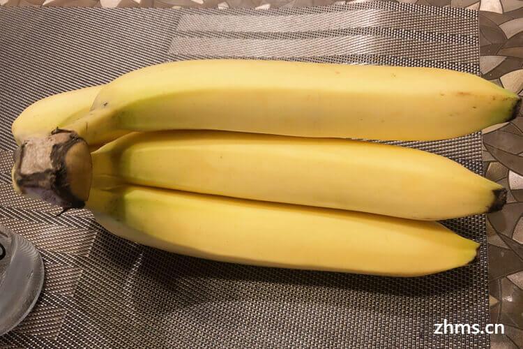 香蕉有点青可以吃吗