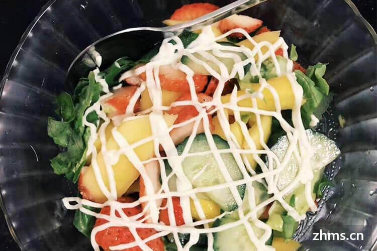 沙拉餐减肥