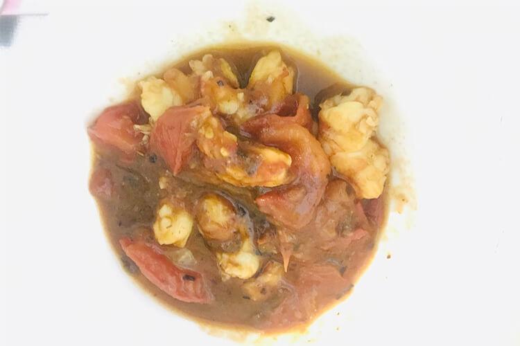 这样做的西红柿炒虾仁美?#37117;?#20102;