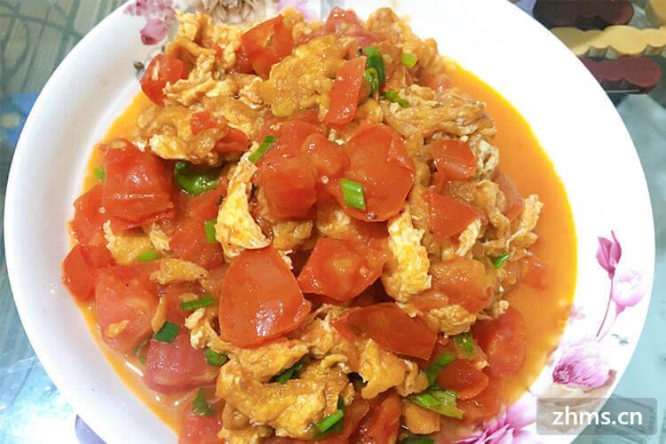 番茄炒蛋盖浇饭的做法,简单易学