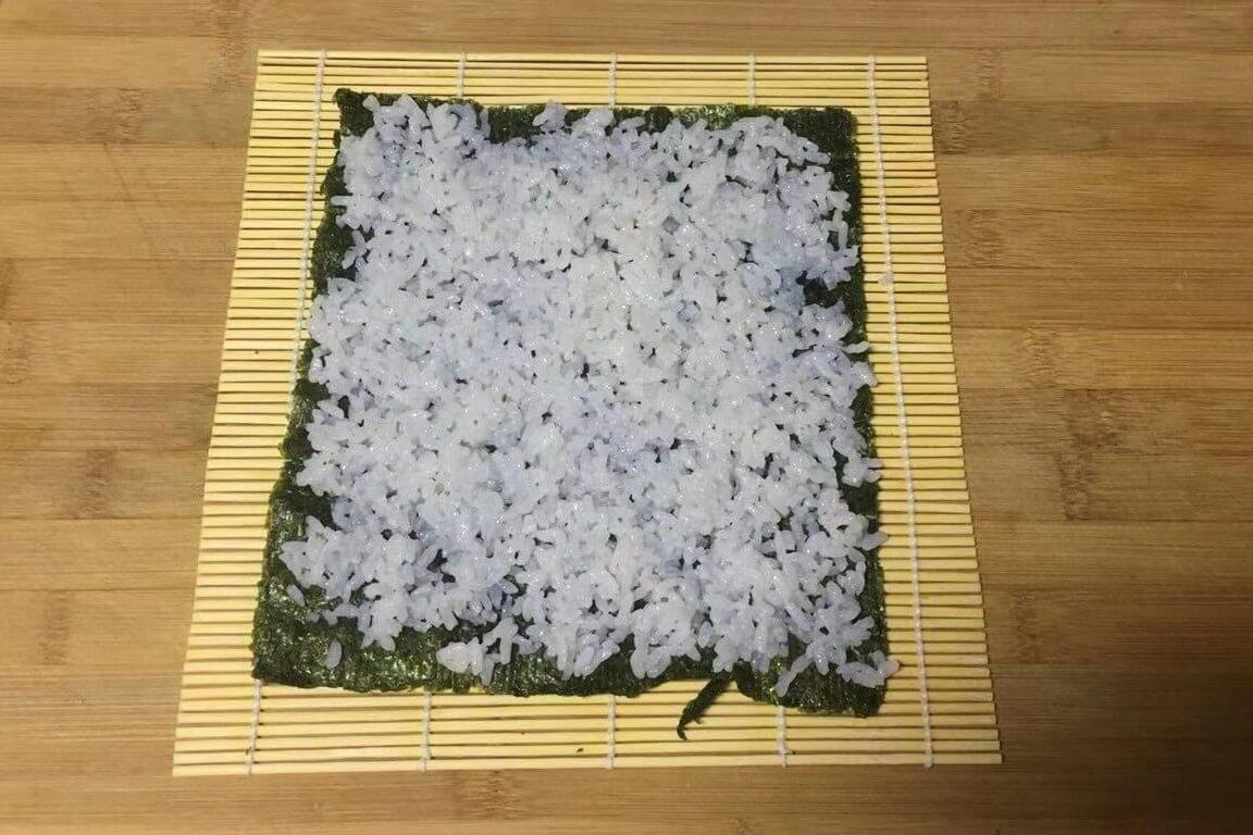 这样制做寿司简直不要太简单啊!第六步