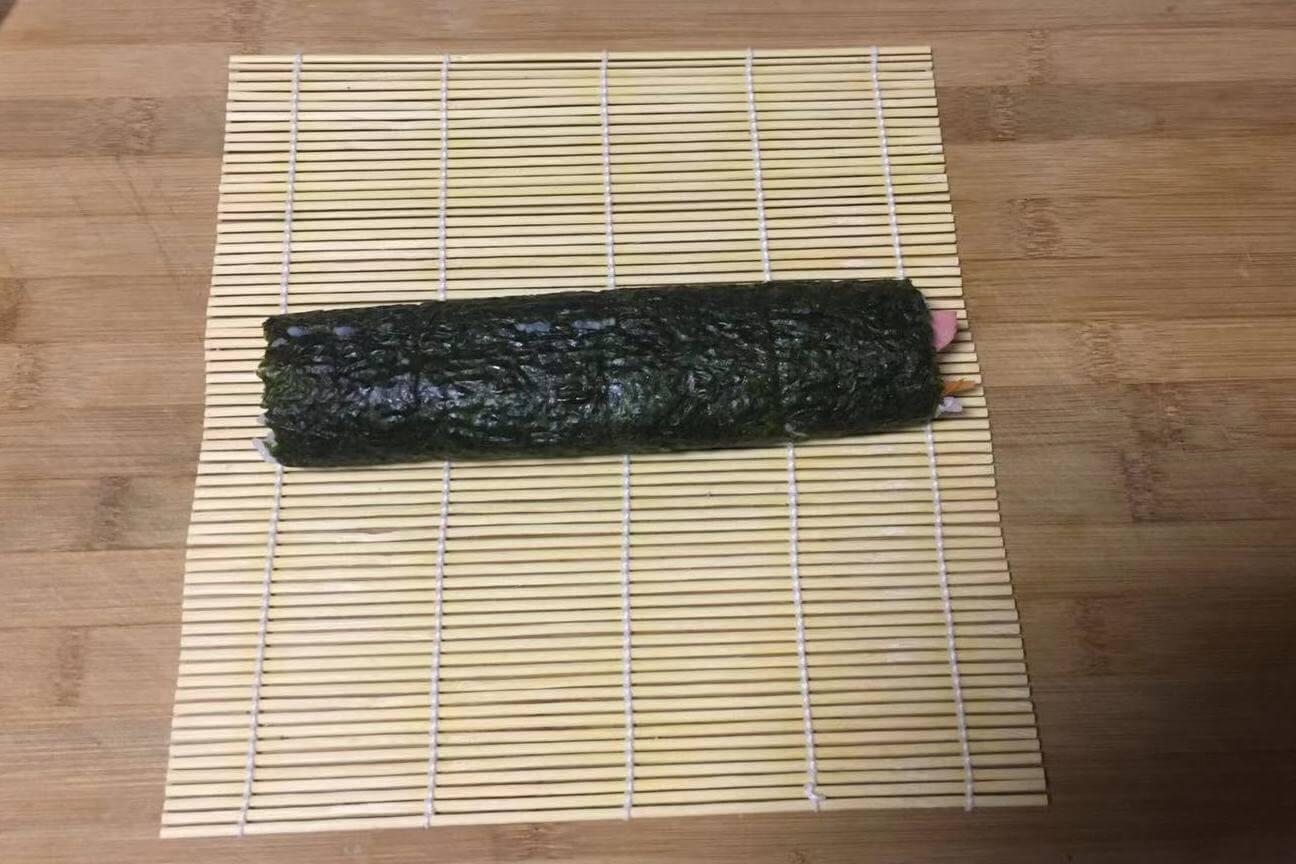 这样制做寿司简直不要太简单啊!第九步