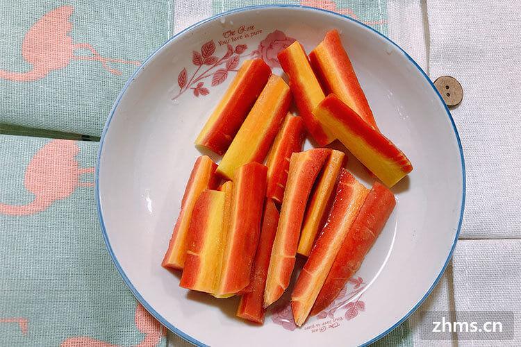 胡萝卜怎么切丁?可以试试这么做