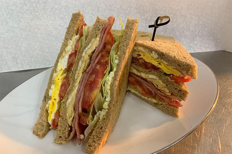 可以提前做好的培根三明治,再也不怕没时间吃早餐了