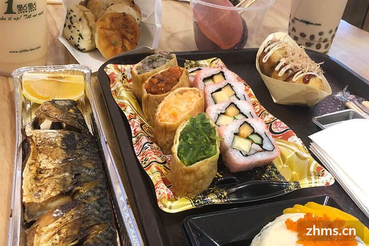 寿司的口味的选择,总有你喜欢的一种