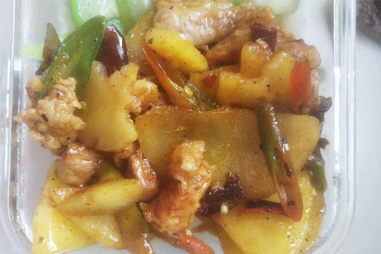 干鍋土豆片,最簡單的干鍋做法你必須get