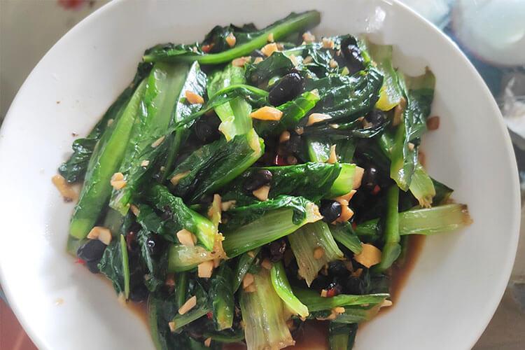 这样做出来的豆豉油麦菜,吃过之后你想天天吃