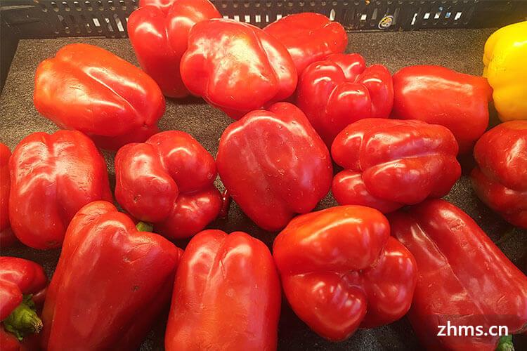 来学学如何挑选柿子椒吧