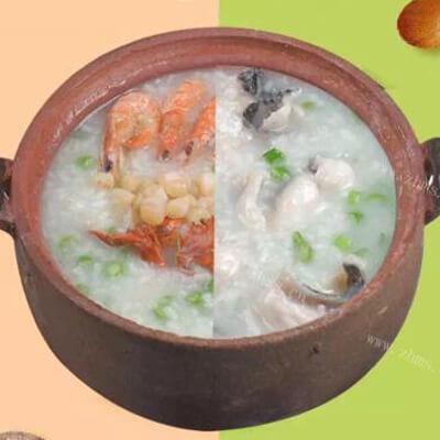 蚌蚌鲜潮汕粥图