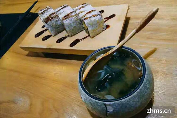 争鲜寿司加盟费是多少