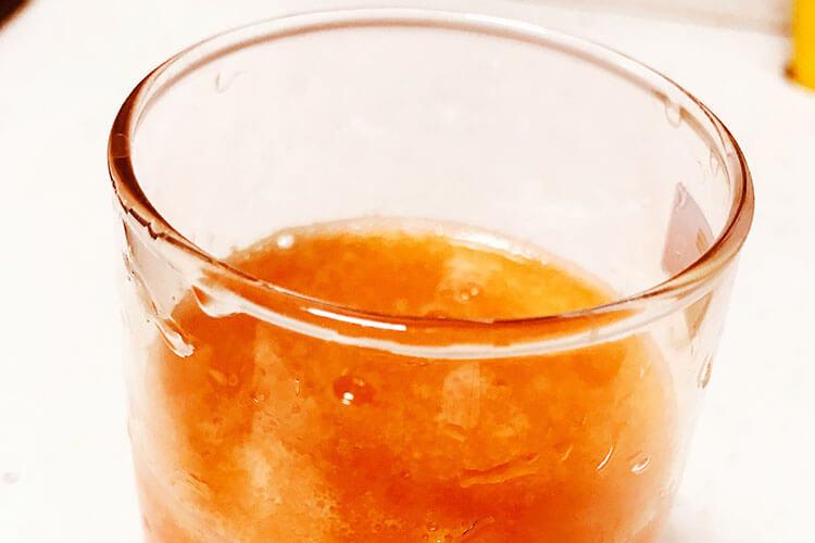 胡萝卜西红柿汁,营养都在汤中