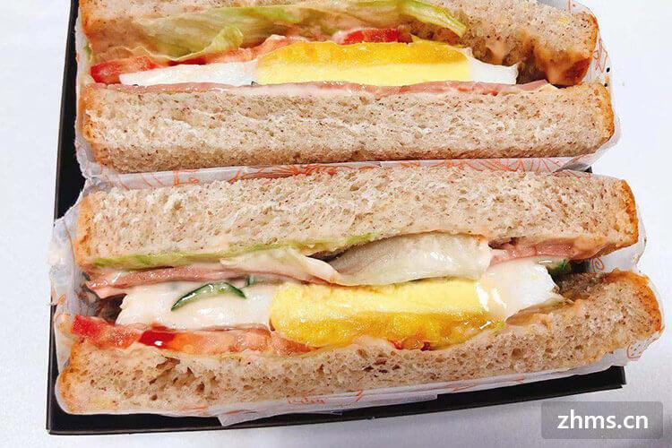 各种馅料的三明治满足你挑剔的胃