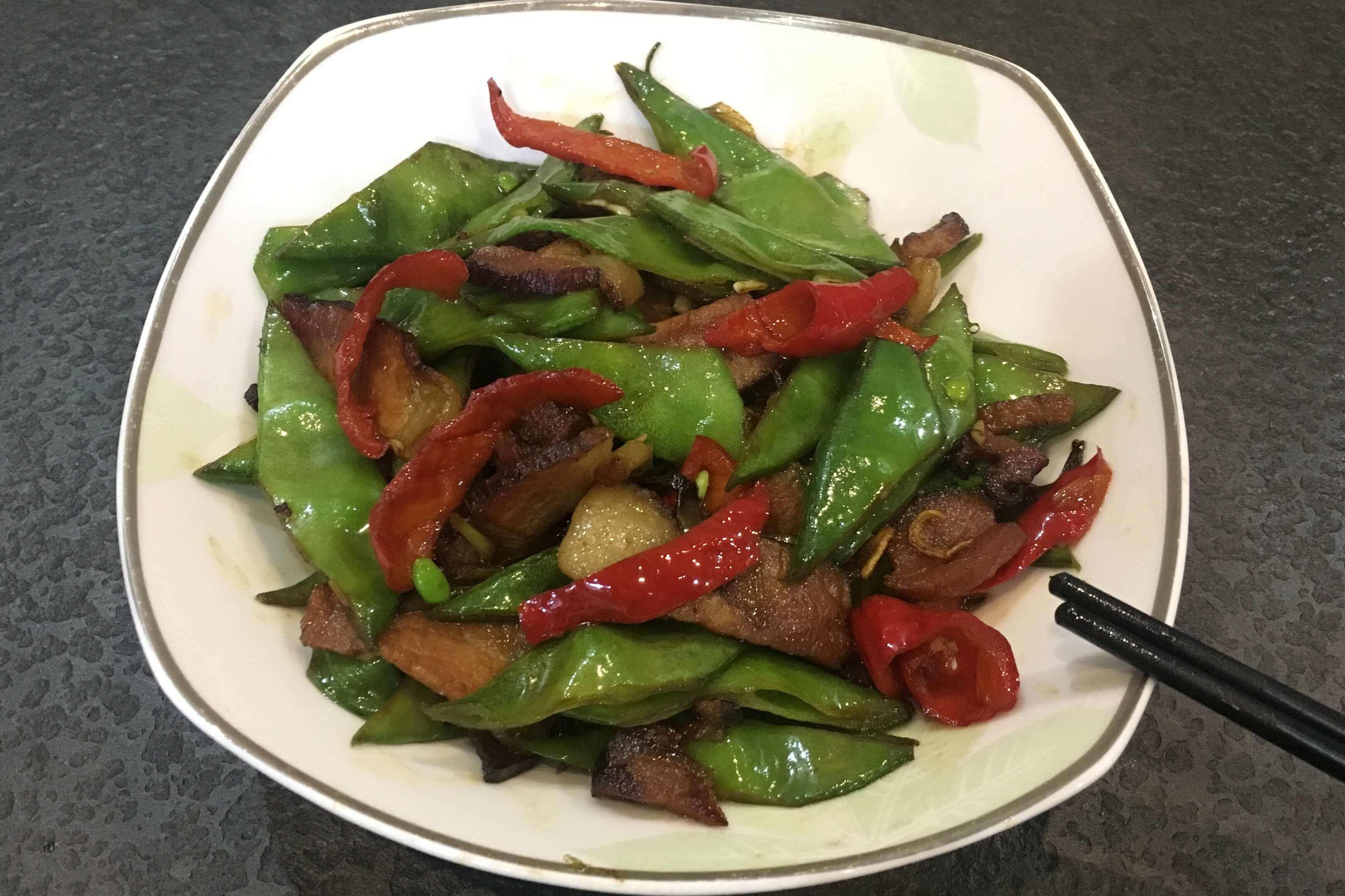 简单又美味的炒刀豆,你值得一试