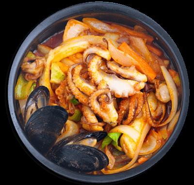 酱样儿三文鱼石锅拌饭图
