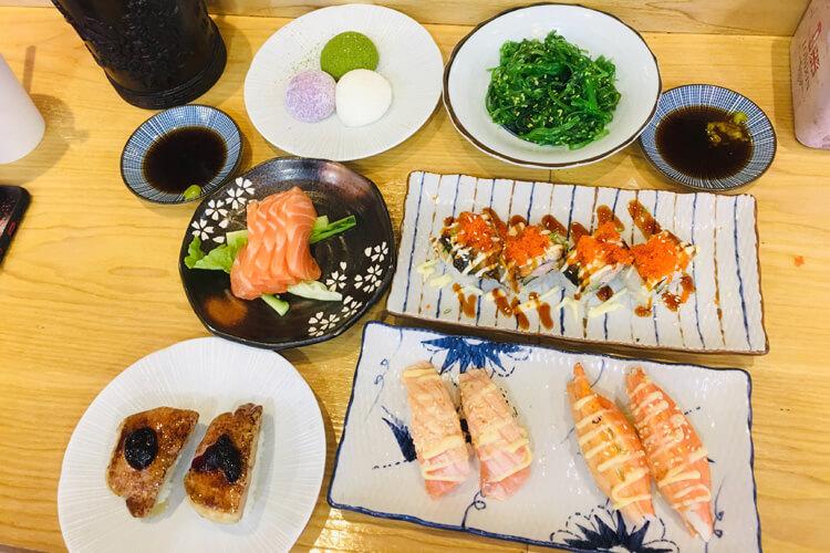 爱上美味寿司,你也太好吃了吧