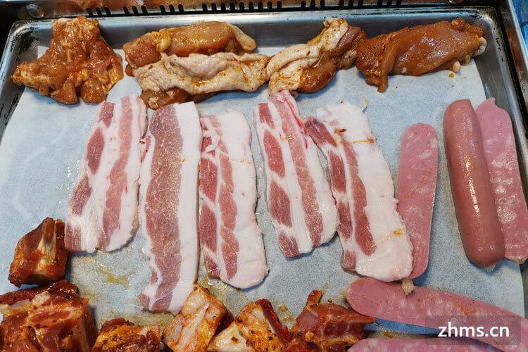 韩国诱惑海鲜自助烤肉相似图